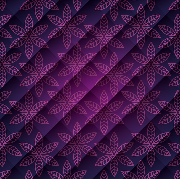 Hand getekend mandala patroon