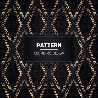 Hand getekend naadloze patroon. vintage decoratieve elementen.
