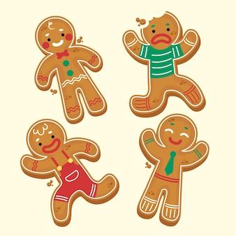 Hand getekend speculaaspop cookie collectie