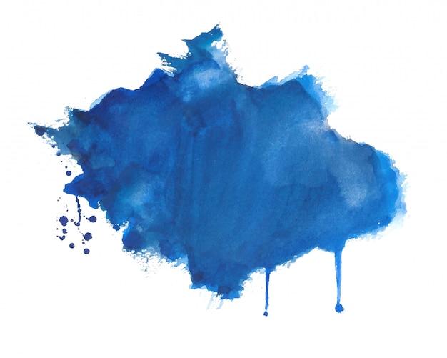 Hand getekende aquarel splatter textuur achtergrond