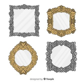 Hand getrokken frame-collectie