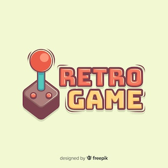 Hand getrokken gamepad logo