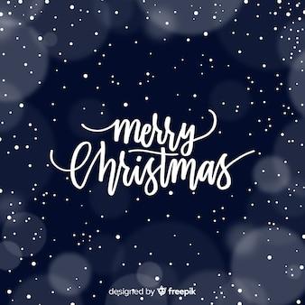 Hand getrokken kerstmis achtergrond