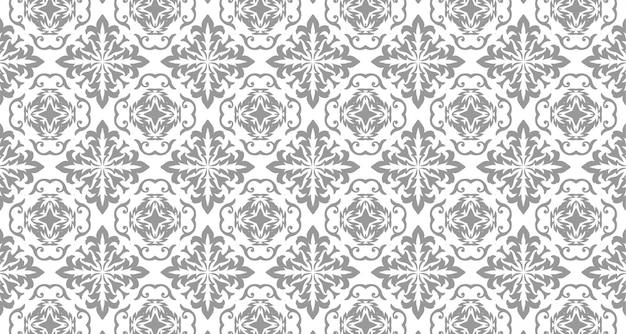 Hand getrokken naadloos patroon