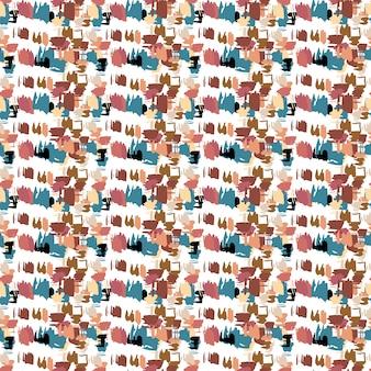 Hand getrokken naadloze patroon. vectortextuur voor druk, document behang, huisdecor, manierstof, textiel, uitnodiging