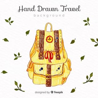 Hand getrokken reizen