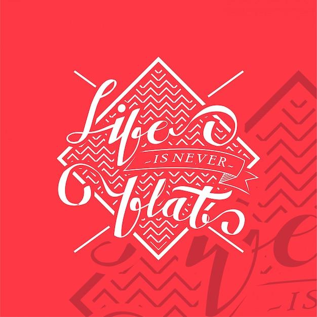 Hand getrokken typografische moderne herinnering voor tshirt