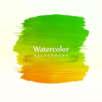 Hand tekenen kleurrijke aquarel slag achtergrond