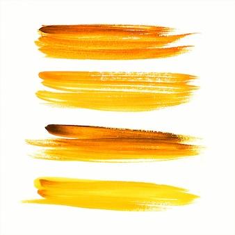 Hand tekenen slag kleurrijke aquarel vector