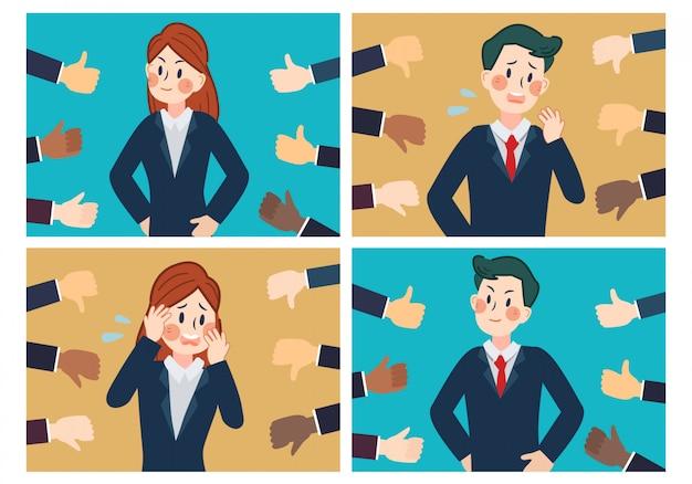 Hand van zakenman
