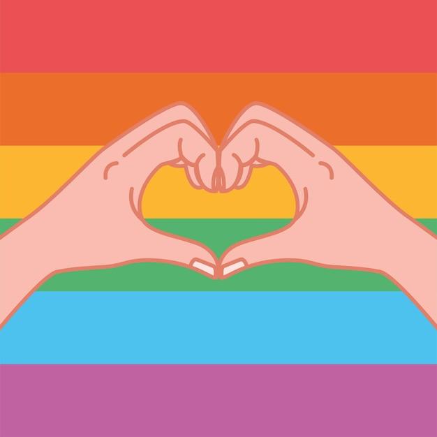 Handen die een hartvormig gebaar maken in de vorm van een hartsymbool, een boodschap van liefde die laat zien dat ik van je hou