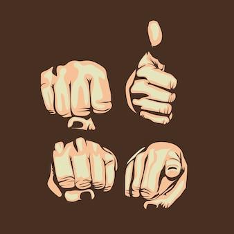 Handen ontwerp