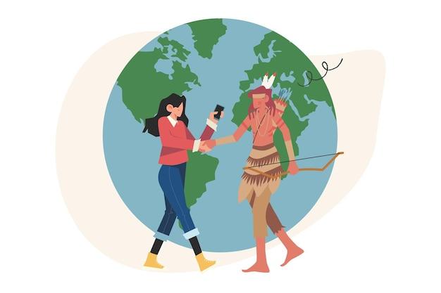 Handen van verschillende nationaliteiten contracteren een succesvol partnerschap en samenwerking