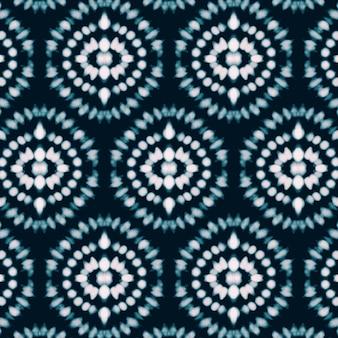 Handgeschilderd shibori-patroon