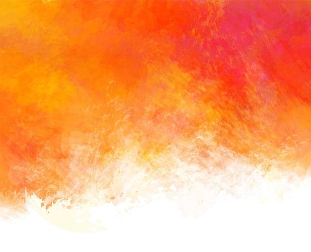 Handgeschilderde abstracte kleurrijke aquarel vlek achtergrond digitaal schilderen