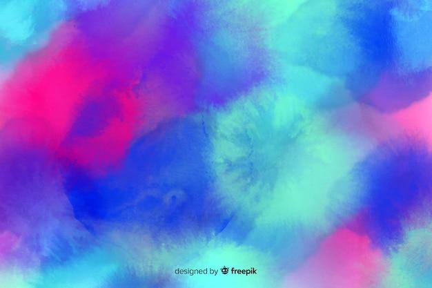 Handgetekende aquarel pastel achtergrond