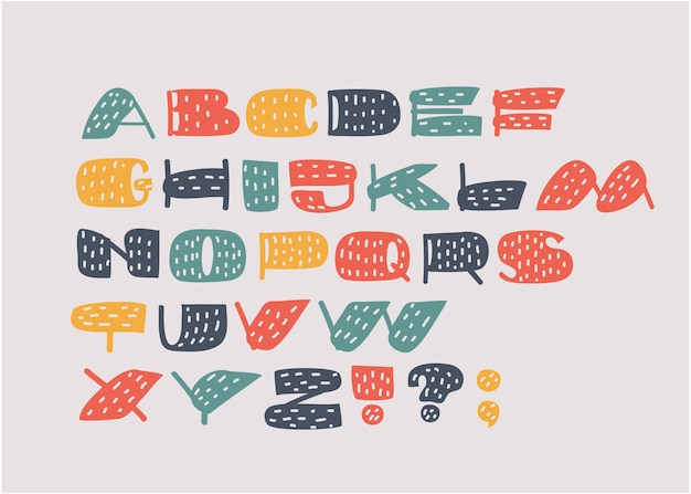 Handgetekende letters