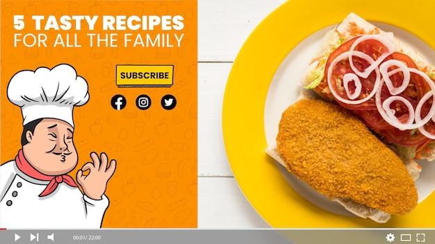 Handgetekende recepten youtube thumbnail