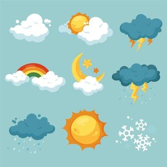 Handgetekende weerseffecten