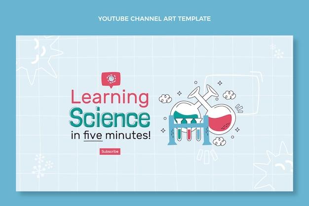 Handgetekende wetenschap youtube-kanaal