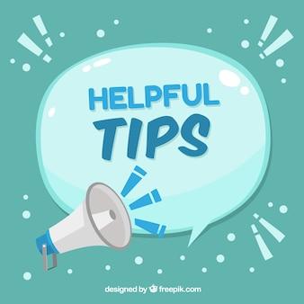 Handige tips samenstelling met platte ontwerp
