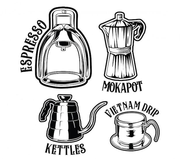 Handmatig koffie zetten