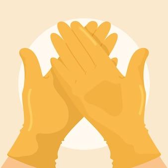 Handschoenen ter bescherming