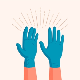 Handschoenen voor beschermingsthema