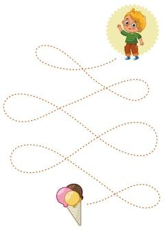 Handschriftoefeningen basisschrijfvaardigheden vroeg onderwijs educatief spel voor kinderen