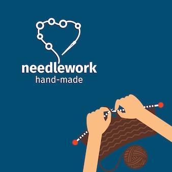 Handwerken handgemaakt met de hand