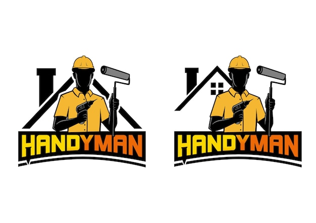 Handyman logo vector pictogram