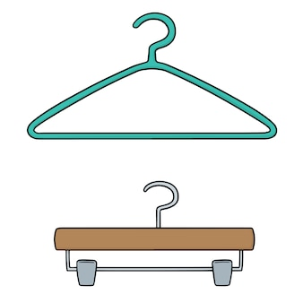Hangers van textiel