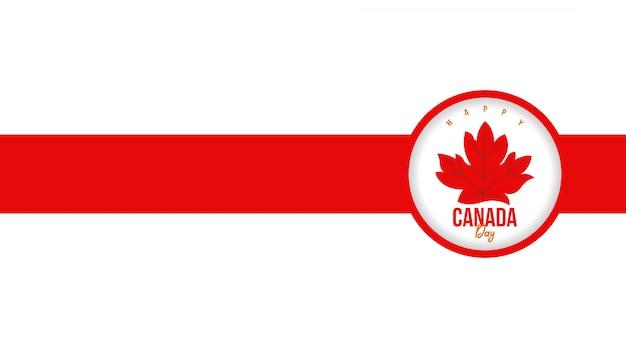 Happy canada day achtergrond