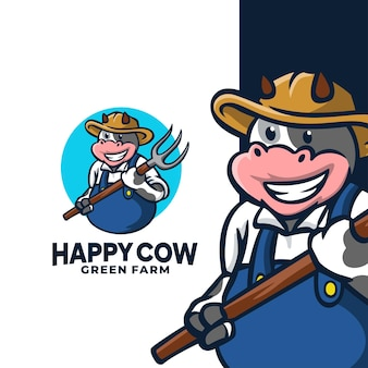 Happy cow green farm