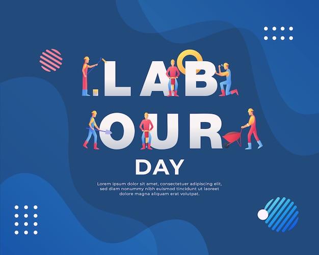 Happy dag van de arbeid achtergrond
