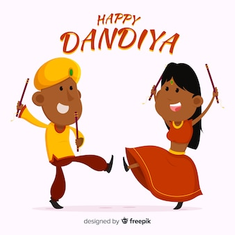Happy dandiya