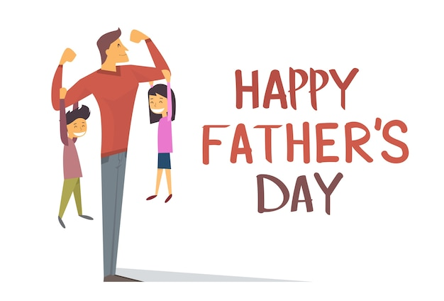 Happy father day holiday