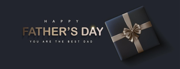 Happy father's day groet banner v