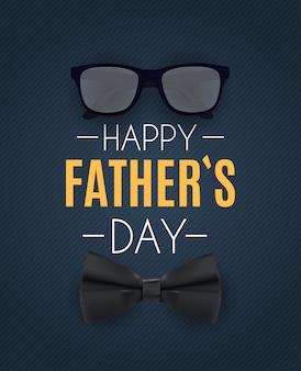 Happy fathers day achtergrond. beste vader illustratie