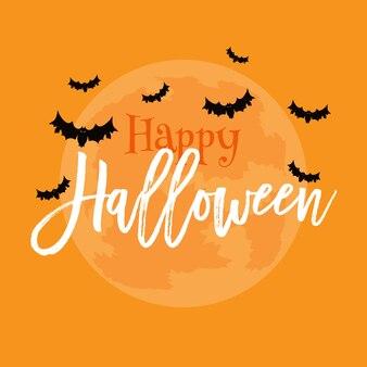 Happy halloween-achtergrond