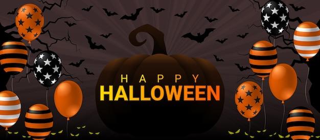 Happy halloween-banner