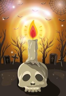 Happy halloween celebration, celebration desing