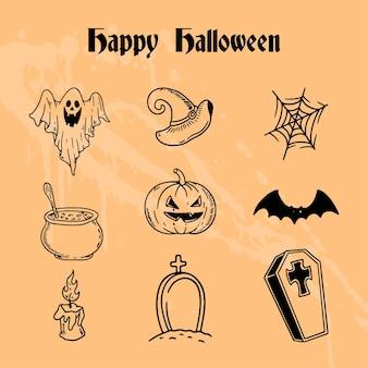 Happy halloween-collectieset