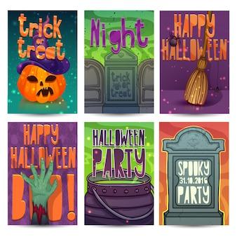 Happy halloween-feestuitnodiging,