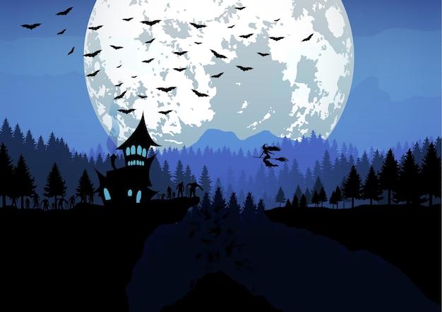 Happy halloween illustratie.