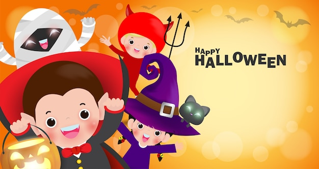 Happy halloween kinderkostuum
