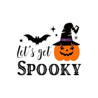 Happy halloween poster, wenskaart, uitnodiging voor feest. vector illustratie.