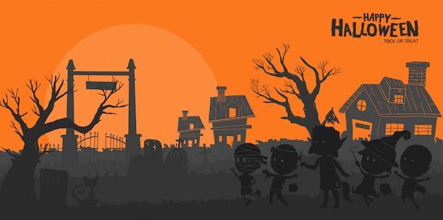 Happy halloween-trick or treat