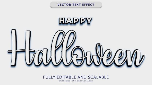 Happy helloween teksteffect eps-bestand