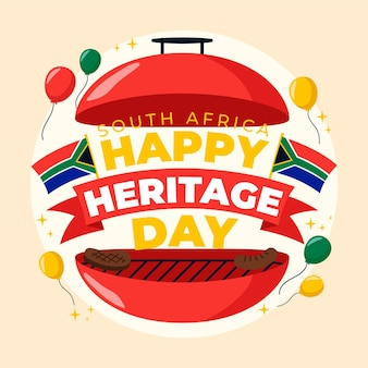 Happy heritage day met grill